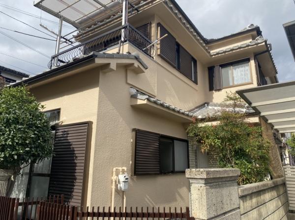 豊中市熊野町S様外壁塗装屋根漆喰リフォーム