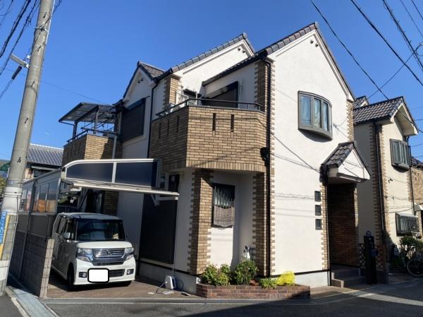 尼崎市武庫元町Y邸屋根外壁塗装防水リフォーム