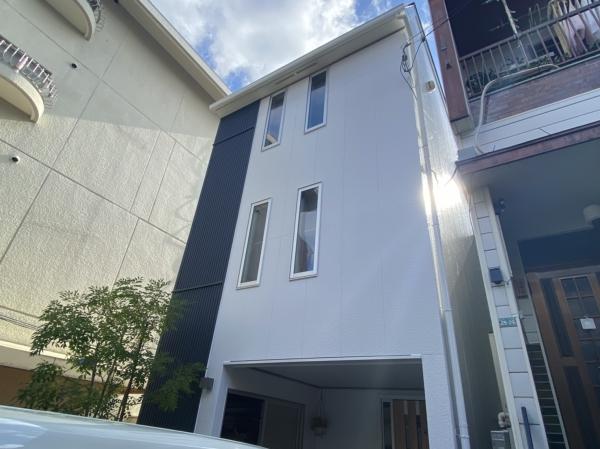 豊中市浜Y様邸が外壁屋根塗装防水リフォーム