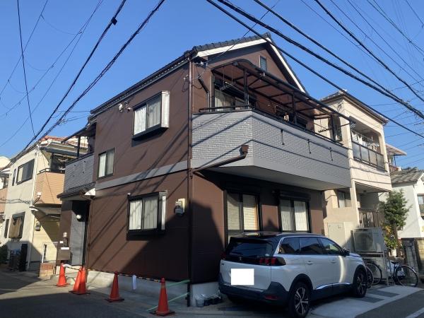 尼崎市武庫元町T様邸外壁塗装防水リフォーム