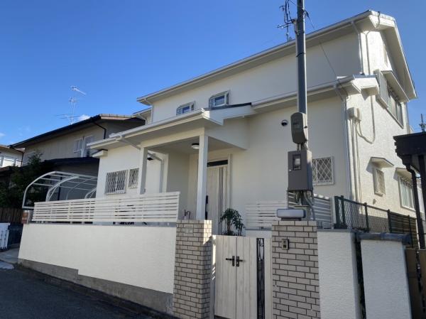 川西市陽台S様邸外壁屋根塗装防水リフォーム
