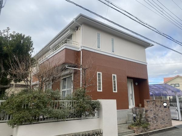 豊能郡豊能町Y様邸外壁屋根塗装防水リフォーム