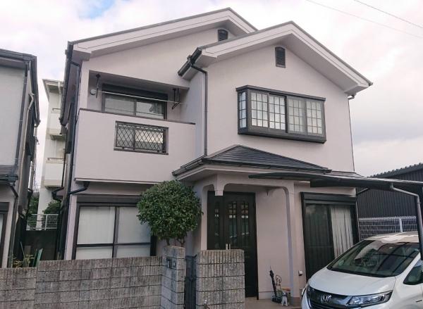 宝塚市中筋N様邸外壁屋根塗装防水リフォーム