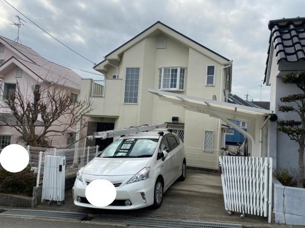 宝塚市平井K様邸外壁屋根塗装防水リフォーム