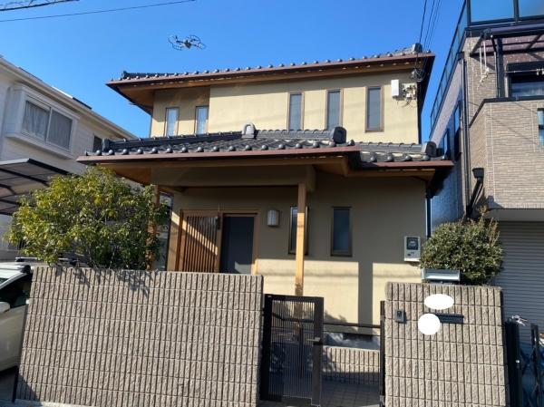 豊中市中桜塚S様邸外壁屋根塗装防水リフォーム
