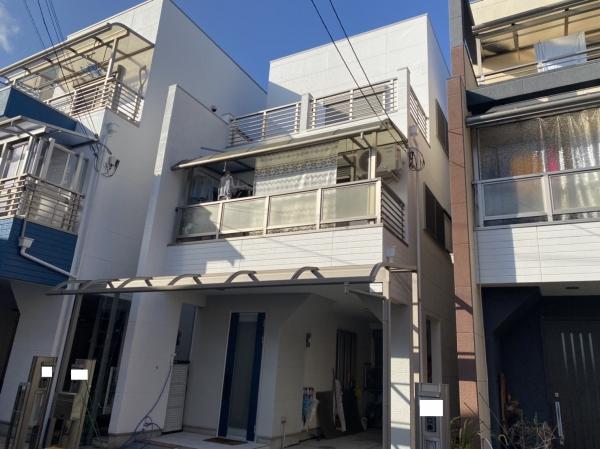豊中市浜N様邸外壁屋根塗装防水リフォーム
