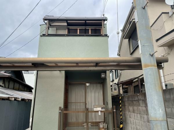 豊中市立花町T様邸外壁屋根塗装防水リフォーム