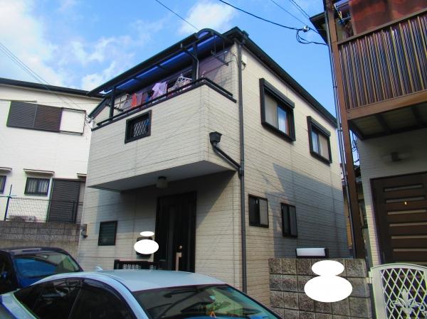 宝塚市売布W様邸外壁屋根塗装防水リフォーム