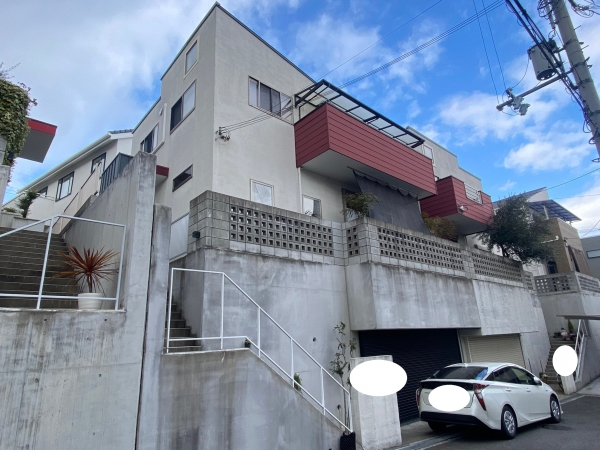 豊中市上野東H様邸外壁屋根塗装防水リフォーム