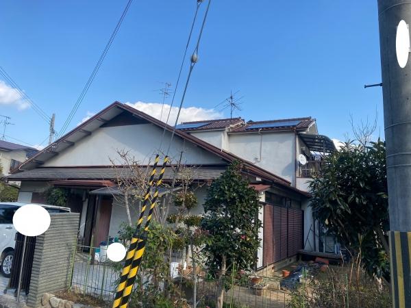 西宮市上甲子園N様邸外壁屋根塗装防水リフォーム