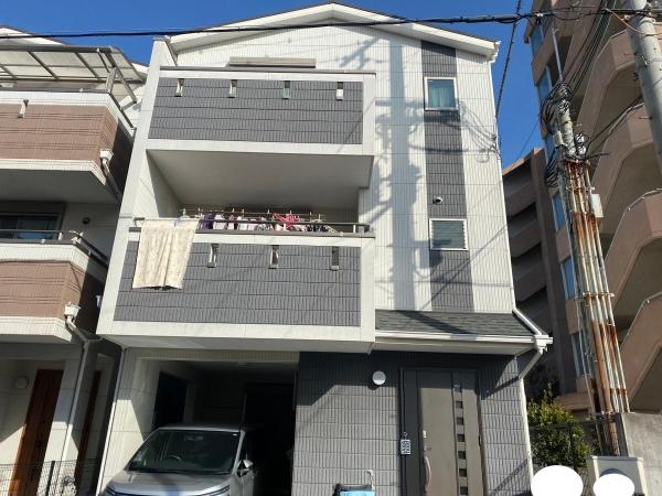 尼崎市尾浜町I様邸外壁屋根塗装防水リフォーム