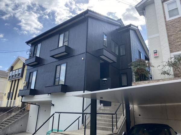 豊中市東豊中町O様邸外壁屋根塗装防水リフォーム