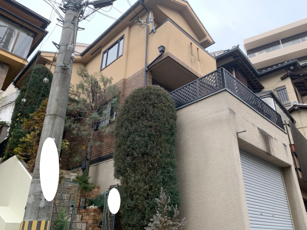 吹田市千里山S様邸外構塗装リフォーム