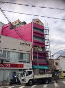 豊中市本町!竹の回廊ビル足場解体