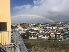 きれいな虹が豊中に☆
