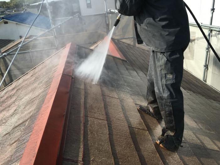屋根・外壁塗替えリフォーム 高圧洗浄