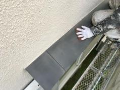 屋根・外壁塗替えリフォーム 鉄部ケレン