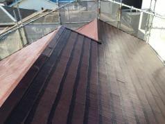 屋根・外壁塗替えリフォーム 屋根完了