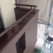 屋根・外壁塗装リフォーム工事 ベランダ