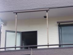 屋根・外壁塗装リフォーム工事 サングッド取付その1