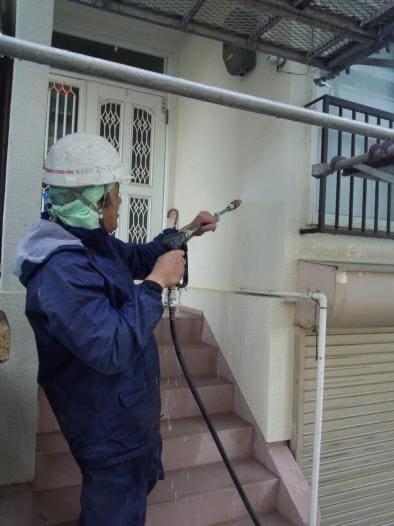 外壁塗替えリフォーム 高圧洗浄