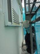外壁塗替えリフォーム 鉄部塗装