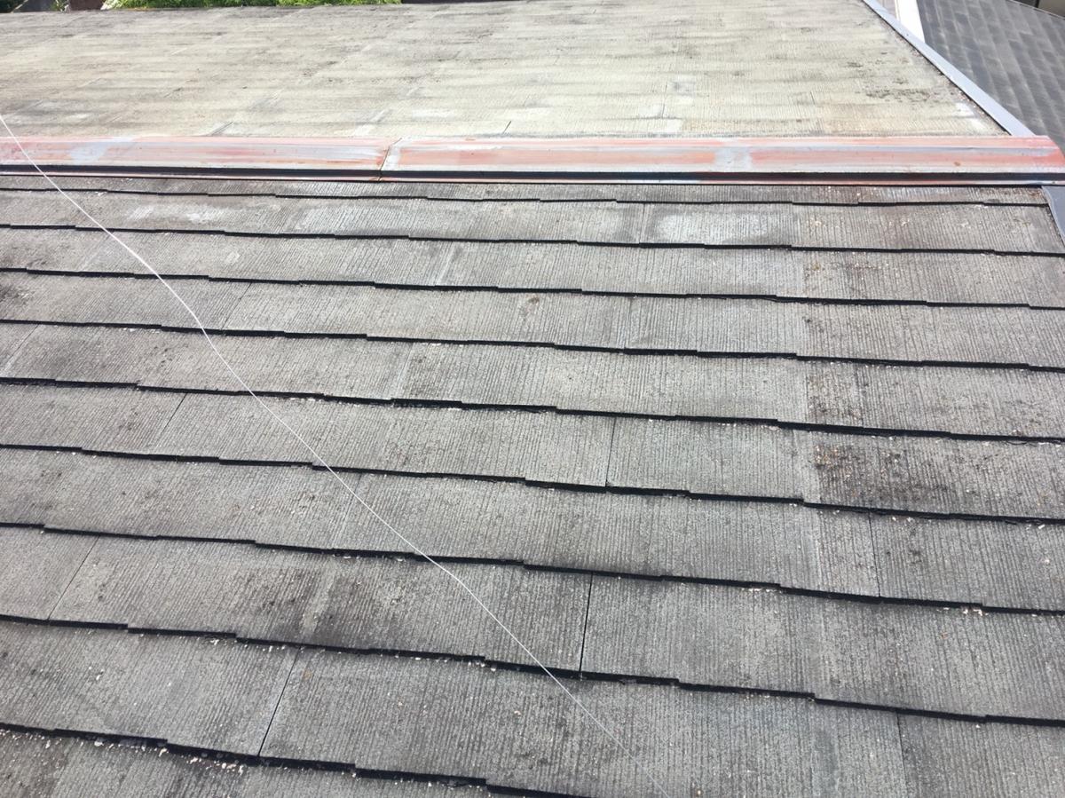 豊中市上野東N様邸屋根破風塗装リフォーム