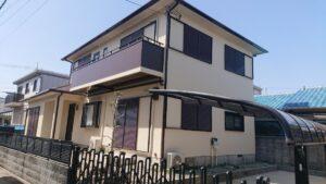 池田市宇保町I様邸 外壁屋根塗装防水リフォーム