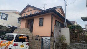 川西市清和台M様邸 外壁塗装防水リフォーム