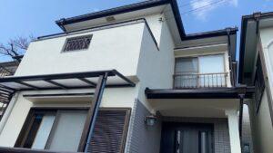 豊中市刀根山元町H様邸 外壁屋根塗装防水リフォーム