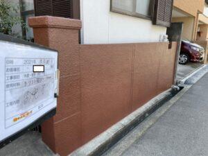 豊中市服部西町K様邸 外壁補修リフォーム