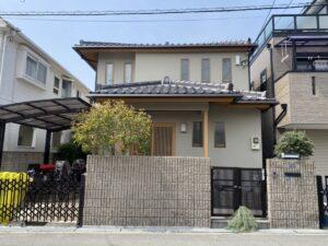 豊中市中桜塚S様邸 外壁屋根塗装防水リフォーム