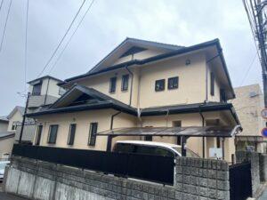 西宮市長田町H様邸 外壁屋根塗装防水リフォーム