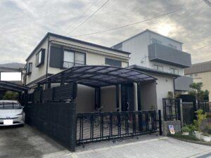 豊中市末広町T様邸 外壁屋根塗装防水リフォーム