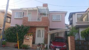 豊中市千里園K様邸 外壁屋根塗装防水リフォーム