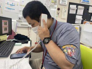 電話対応実践!