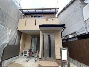 豊中市豊南町西T様邸 外壁屋根塗装防水リフォーム