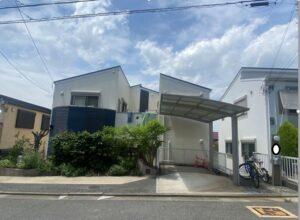 川西市南野板  U様邸 外壁屋根塗装防水リフォーム