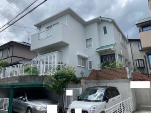 西宮市仁川町 K様邸 外壁屋根塗装防水リフォーム