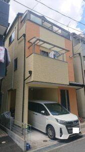 豊中市二葉町 H様邸 外壁屋根塗装防水リフォーム