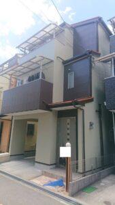 豊中市二葉町 K様邸 外壁屋根塗装防水リフォーム