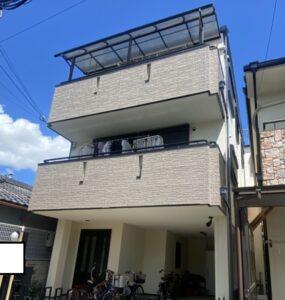 豊中市中桜塚 K様邸 外壁屋根塗装防水リフォーム