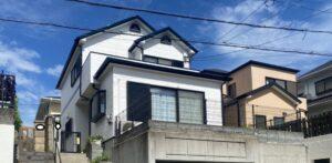 川西市萩原台 H様邸 外壁屋根塗装防水リフォーム