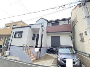 豊中市山ノ上町 K様邸 外壁屋根塗装防水リフォーム