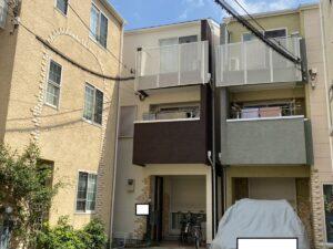 大阪市淀川区加島T様邸 外壁屋根塗装防水リフォーム
