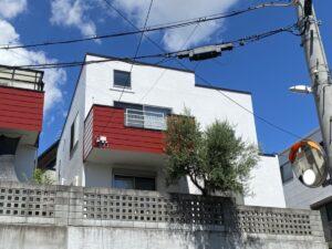豊中市上野東 I様邸外壁屋根塗装防水リフォーム