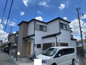 豊中市山ノ上町 T様邸 外壁屋根塗装防水リフォーム