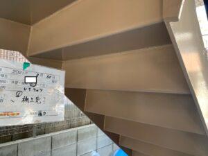 尼崎市西難波町 T様邸 付帯部鉄部塗装工事