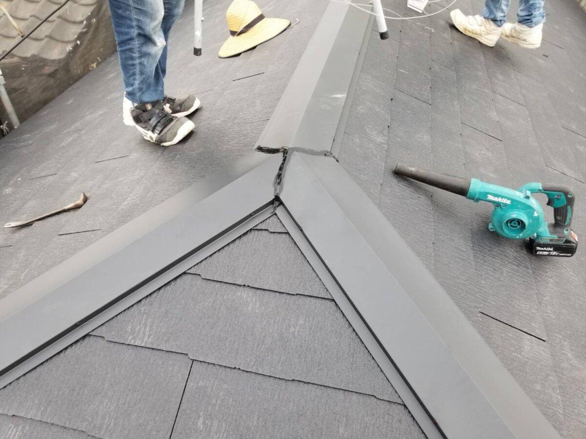 屋根吹き替え
